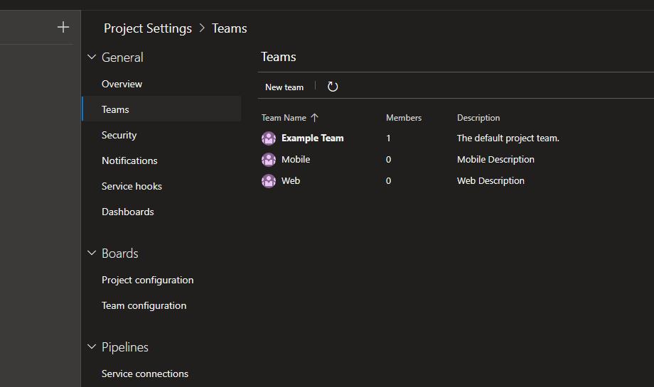 Managing multiple teams in Azure DevOps - Panu Oksala